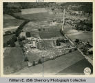 164th Signal Photo Company training camp aerial photograph, Tennessee